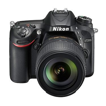 "Nikon D7200 + Objectif VR 18-105 mm Réflex Numérique 24.72 MP - Ecran 3.2"" - Vidéo Full HD + Objectif AF-S DX NIKKOR 18-105 mm f/3.5-5.6G ED VR"