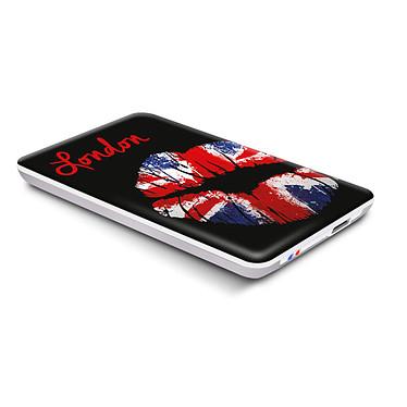 Advance Arty Pop Box USB 3.0 (London Kiss) Boitier externe USB 3.0 pour disque dur 2.5'' SATA