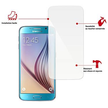 Swiss Charger Verre Trempé pour Samsung Galaxy S6 Protection en verre trempé pour Samsung Galaxy S6