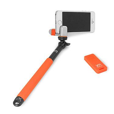 XSories Me-Shot Deluxe Noir/Orange Perche-support télescopique pour selfie