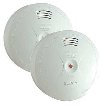 Sedea lot de 2 détecteurs de fumée autonome FTS-598001