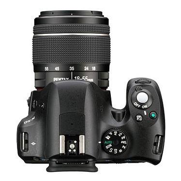 Pentax K-50 + Objectif DA 18-55mm f/3,5-5,6 AL WR + Pentax 50099 + carte 16 SDHC pas cher