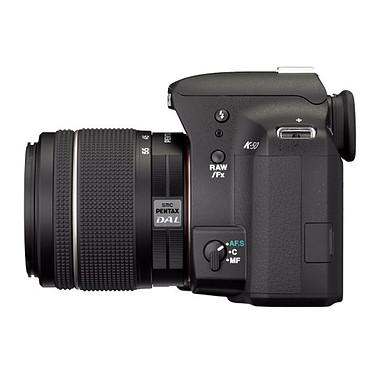 Avis Pentax K-50 + Objectif DA 18-55mm f/3,5-5,6 AL WR + Pentax 50099 + carte 16 SDHC