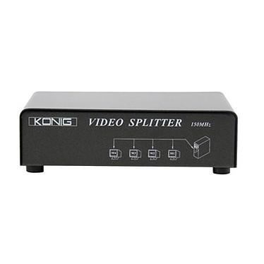 Divisor VGA (1 entrada a 4 salidas) Divisor vídeo VGA (4 puertos)