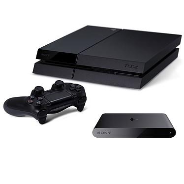 Sony PlayStation 4 + PSTV OFFERT ! Console de jeux-vidéo nouvelle génération avec disque dur 500 Go + diffuseur streaming pour PlayStation 4