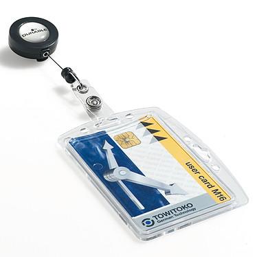 Acheter DURABLE Boîte de 10 porte-badges de sécurité avec enrouleur pour 1 carte