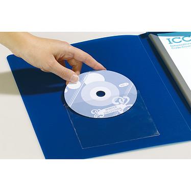 Acheter DURABLE Sachet de 10 Porte-étiquettes POCKETFIX adhésifs CD/DVD avec rabat