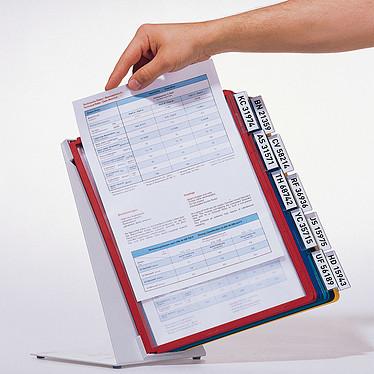 Acheter DURABLE Système de consultation de table VARIO TABLE 10 pochettes coloris assortis