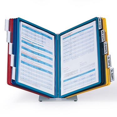 DURABLE Système de consultation de table VARIO TABLE 10 pochettes coloris assortis
