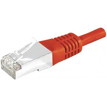 Câble RJ45 catégorie 6a S/FTP 5 m (Rouge)