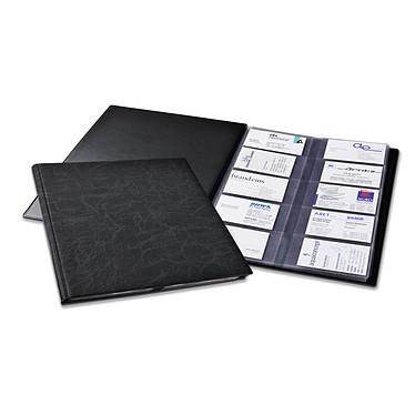 DURABLE Reliure VISIFIX format A4 pour cartes de visite capacité 400 cartes coloris noir