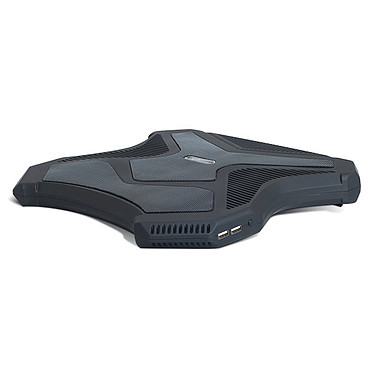 """Spirit of Gamer Airblade Refroidisseur pour ordinateur portable 15.6"""" avec ports USB (coloris noir, LEDs bleues)"""