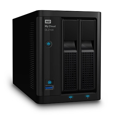 WD My Cloud Business Series DL2100 4 To (2 x 2 To)