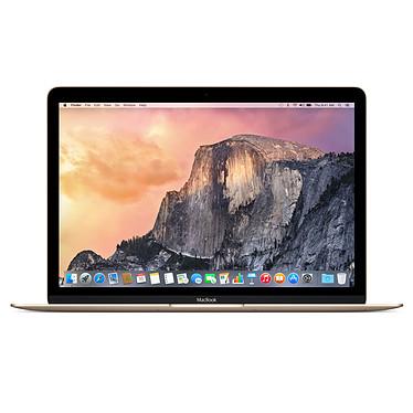 """Apple MacBook 12"""" Or (MK4N2F/A) Intel Core M (1.2 GHz) 8 Go SSD 512 Go 12"""" LED Wi-Fi AC/Bluetooth Webcam Mac OS X Yosemite"""