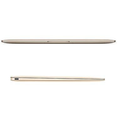 "Apple MacBook 12"" Or (MK4N2F/A-Core M 1.3 GHz) pas cher"