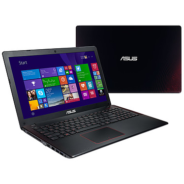 "ASUS R510JX-DM225T Intel Core i5-4200H 6 Go 1 To 15.6"" LED Full HD NVIDIA GeForce GTX 950M Graveur DVD Wi-Fi AC/Bluetooth Webcam Windows 10 Famille 64 bits (garantie constructeur 1 an)"