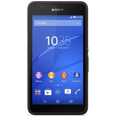 """Sony Xperia E4g Dual Noir Smartphone 4G-LTE Dual SIM avec écran tactile 4.7"""" sous Android 4.4"""