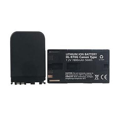 Hähnel HL-970G Batterie de remplacement compatible Canon BP-950 / BP-950G / BP-970 / BP-970G