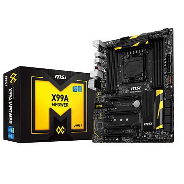 MSI X99A MPOWER Carte mère ATX Socket 2011-3 Intel X99 Express - DDR4 - SATA 6Gb/s - M.2 - USB 3.1 - 4x PCI-Express 3.0 16x