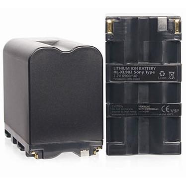 Hähnel HL-XL982 Batería de repuesto compatible con Sony NP-F930 / F950 / F970