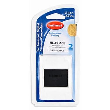 Hähnel HL-PG10E Batterie de remplacement compatible Panasonic DMW-BCG10E