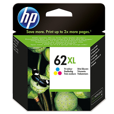 HP 62XL Couleur - C2P07AE