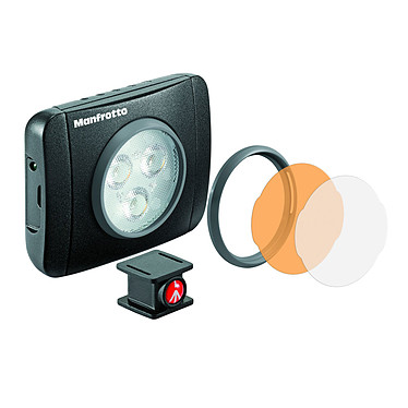 Manfrotto MLUMIEPL-BK Torche LED Play série Lumie (3led) - noir