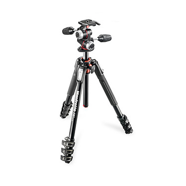 Manfrotto MK190XPRO4-3W Trépied aluminium 4 Sections + rotule 3 Dimensions MHXPRO-3W
