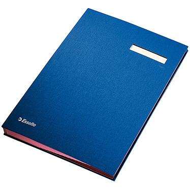 Esselte parapheur 20 positions bleu