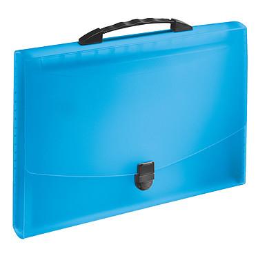 Esselte Vivida valisette à soufflet 12 onglets bleu Valisette à soufflet en polypropylène pour 350 feuilles A4