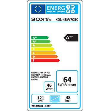 Acheter Sony KDL-48W705C