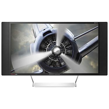 "HP 32"" LED - ENVY 32 2560 x 1440 pixels - 7 ms (gris à gris) - Format large 16/9 - Dalle WVA+ - DisplayPort - HDMI - MHL - Hub USB - Noir"