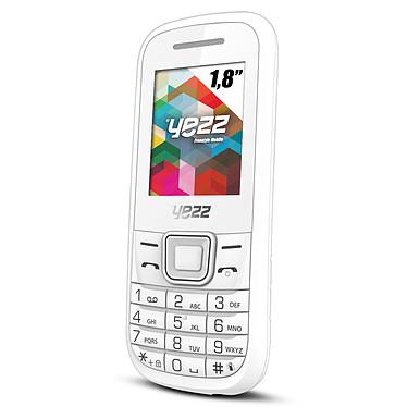 "Yezz Classic C21A Dual SIM Blanc Téléphone 2G Dual SIM avec écran 1.8"""
