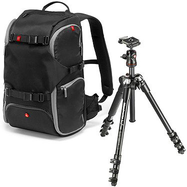 Manfrotto Befree MKBFRA4-BH + Travel Backpack