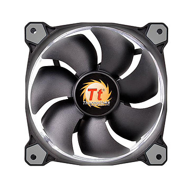 Thermaltake Riing 12 Blanco Ventilador de caja de 120 mm con LED blanco