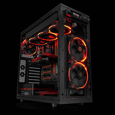Thermaltake Riing 14 Rouge pas cher