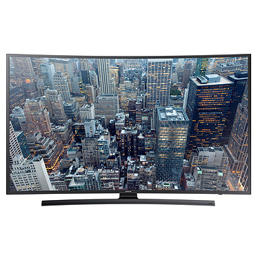 "Samsung UE40JU6570 Téléviseur incurvé LED 4K 40"" (102 cm) 16/9 - 3840 x 2160 pixels - Tuner TNT, Câble et Satellite HD - Ultra HD - Wi-Fi - DLNA - 1100 Hz"