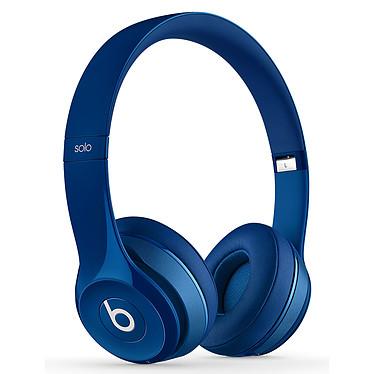 Beats Solo 2 Wireless Bleu Casque supra-auriculaire fermé sans fil Bluetooth avec microphone intégré