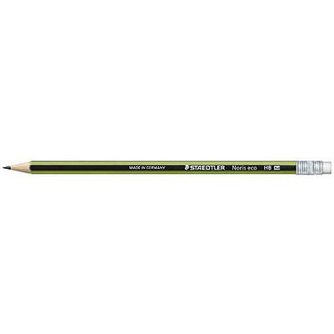 STAEDTLER Lot de12 crayons Noris Eco 182 30 embout gomme
