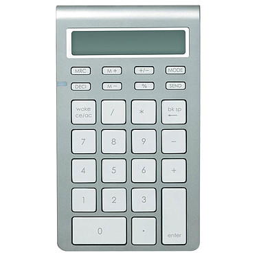 Mobility Lab Wireless Keypad for Mac Pavé numérique ultra fin avec fonction calculatrice - sans fil Bluetooth - touches chiclet plates silencieuses - compatible Mac et PC