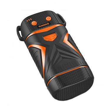 X-Moove Rugged Classic 5600 mAh Orange Chargeur de batterie USB autonome tout terrain (compatible tablette, smartphone...) avec lampe LED et laser intégrés
