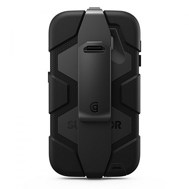 Griffin Survivor All Terrain Noir Samsung Galaxy S6 Coque ultra-résistante pour Samsung Galaxy S6