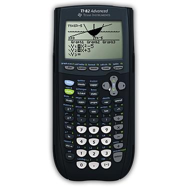 Texas Instruments TI-82 Advanced Calculatrice graphique avec mode examen intégré et affichage naturel MathPrint