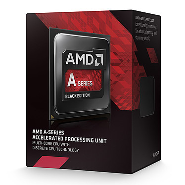AMD A8-7670K (3.6 GHz) Black Low Noise Edition