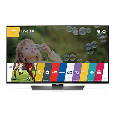 "LG 43LF630V  Téléviseur LED Full HD 43"" (109 cm) 16/9 - 1920 x 1080 pixels - TNT, Câble et Satellite HD - HDTV 1080p - 450 Hz - Wi-Fi - Bluetooth - DLNA"