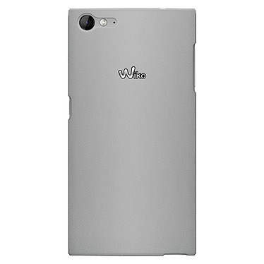Wiko Slim Case Leather Effect Argent Wiko Highway Star