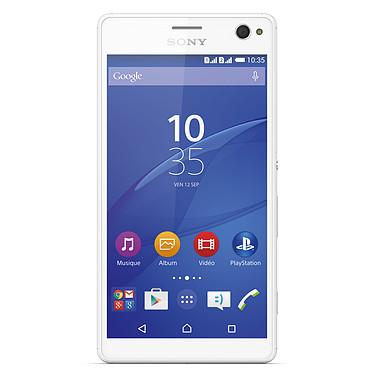 "Sony Xperia C4 Dual SIM Blanc Smartphone 4G-LTE Dual SIM - ARM Cortex-A53 8-Core 1.7 GHz - RAM 2 Go - Ecran tactile 5.5"" 1920 x 1080 - 16 Go - NFC/Bluetooth 4.0 - 2600 mAh - Android 5.0"