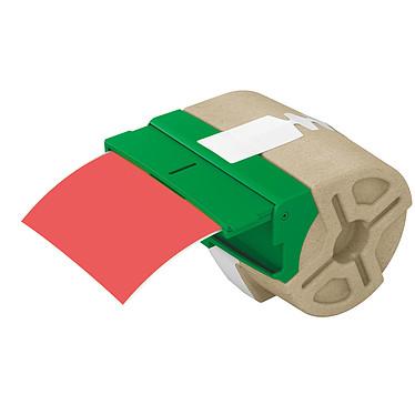 Leitz Icon 88 mm x 10 m Rouge Cartouche de ruban plastique adhésif continu 88 mm rouge compatible avec l'imprimante Leitz Icon Label
