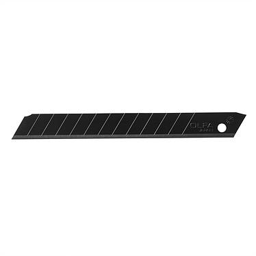 OLFA lames de cutter 9 mm noires Etui de 10 lames noires pour cutter Olfa XA-1