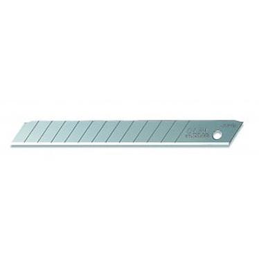 OLFA lames de cutter 9 mm Etui de 10 lames noires pour cutter Olfa A 1